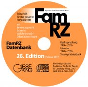 FamRZ Datenbank (26. Edition 2017)
