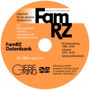 FamRZ Datenbank (28. Edition 2019 - DVD)