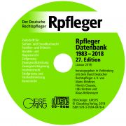 Rpfleger Datenbank  (27. Edition 2019 - CD-ROM)
